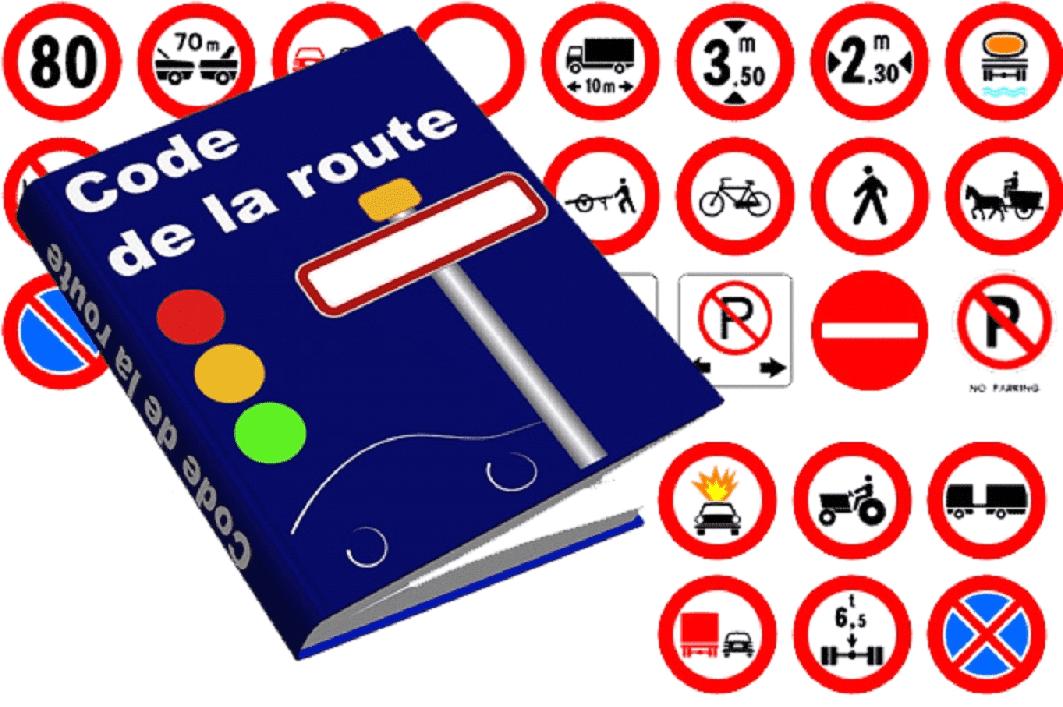 Le code de la route et le stationnement.